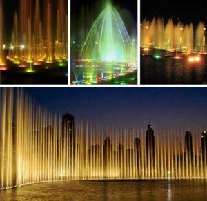 LEDのプールはRGBの高い内腔の水中ライトをつける