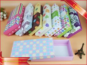 Contenitore stampato impaccante promozionale di regalo della casella di carta di Foldbable