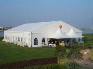 Grande fête de mariage en plein air tente de renom pour l'événement ou d'exposition
