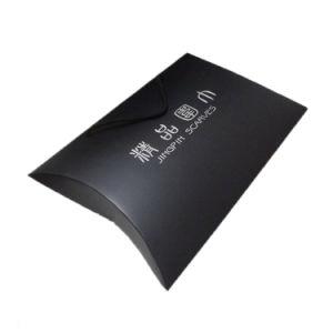 [برند نم] أسود ورقة عالة طبق علامة تجاريّة وسادة صندوق لأنّ هبة