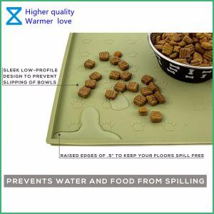 De Mooie het Voeden van het Huisdier van het Silicone Matten van uitstekende kwaliteit voor de Katten van de Hond met Milieuvriendelijke Materialen
