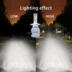 H7によって隠されるキセノンキットが付いている72W車LEDのヘッドライトのための自動ライトH4