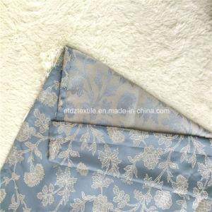 Novo padrão de Flores Populares Cortina Jacquard Fabric