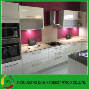 Alto brillo modernos muebles de cocina MDF lacado Armario de Cocina ...