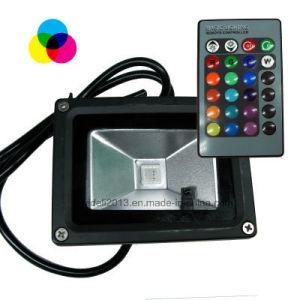10W RGB LEIDENE Licht van de Vloed met Ver Controlemechanisme