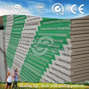 Placa de gesso acartonado Gesso Manucafture/placas de estuque (NGB-1124)