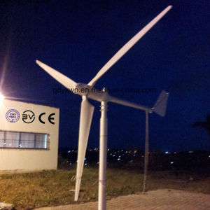 1 квт в горизонтальном положении ветряной мельницы ветровой турбины 1000W