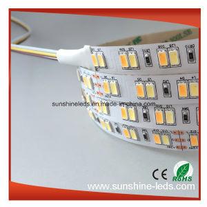 Color doble + Pw Ww 600 LED SMD5630 Chips Samsung TIRA DE LEDS