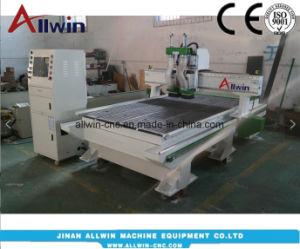 Due prezzo 1325 di fabbrica della macchina per incidere della macchina del router di CNC dell'asse di rotazione 1300X2500mm