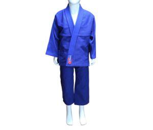유럽 크기 아이들의 주문 로고를 가진 브라질 Jiu-Jitsu 제복