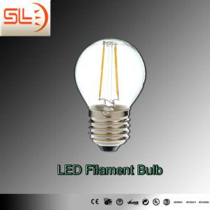 G45 E27 Luz da lâmpada de filamento de LED com marcação EMC