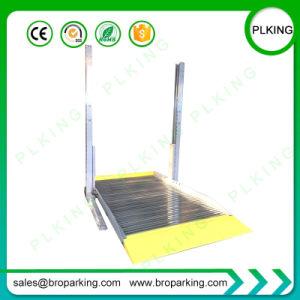 Plking 2 puestos de hidráulica de elevación de estacionamiento de automóviles