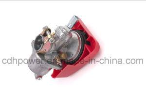 Supersilberne Motor-Installationssätze des Fahrrad-Pk80 mit rotem Geschwindigkeits-Vergaser alle Allen-Schrauben