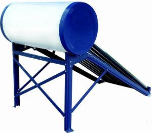aço inoxidável/galvanizado aquecedor solar de água de baixa pressão