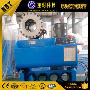 Baomingの携帯用フィン力貿易手動ホースの油圧ひだが付く機械