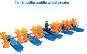 L'aeratore 10-Impeller della rotella di pala è utilizzato per l'aumento dell'ossigeno in stagno