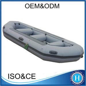 Material PVC 0.9mm Jangada de Água Branca barco inflável