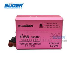 Suoer fusible externo de Energía Solar Inverter DC 12V 500W a 230V AC inversor (KFA-500A)