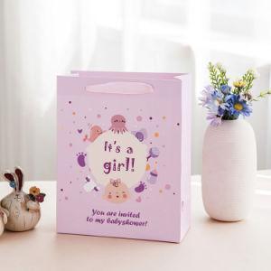 Baby Shower de parte de la moda bolsa de regalo de papel