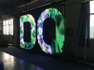 Creative Design petits modules P8 Outdoor plein écran LED de couleur pour Logo de la publicité