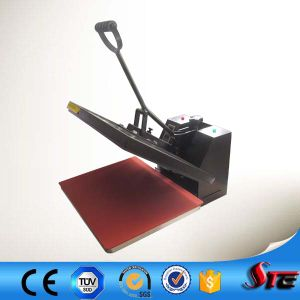 SGSのセリウムの手動ハマグリ平らなファブリック熱の出版物機械