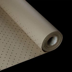 90 pulgadas de color marrón del rollo de papel perforado para subyacen