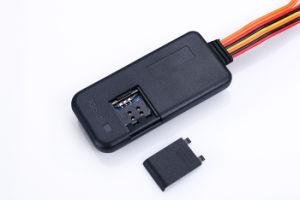 Интеллектуальная GPRS/GPS/GSM Tracker для транспортного средства для защиты от краж с кнопку парового удара