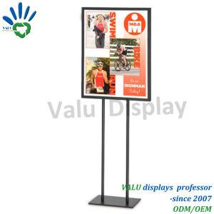 販売ラックのためにポスターフレームラックのための立場を広告すること