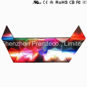Affichage LED créatif avec le haut du triangle de qualité européen P5