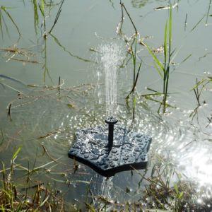 Mini-alimentada a energia solar Chafariz de Kits de bomba para exterior
