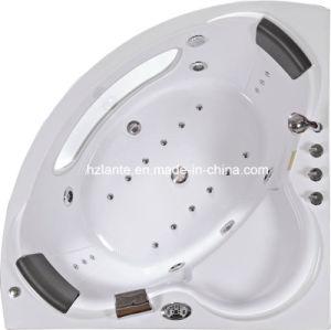 Bañera de hidromasaje de esquina con dos altavoces (CDT-001)