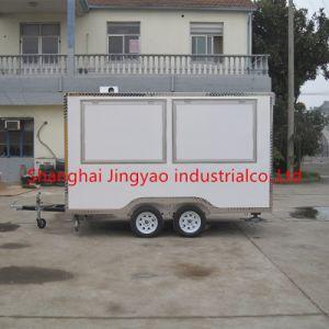 中国の製造業者の多彩な通りの移動式食糧カートの/Fastの食糧トラックか食糧トレーラー
