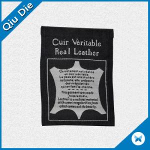 Insignia de tejido personalizado de alta calidad para la etiqueta de prendas de vestir