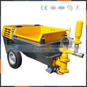 Coeficiente de fricción bajo Sg60-50 10m3/H/eléctrico Diesel bomba de mortero
