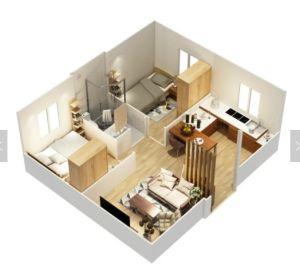 쉬운 야영하거나 살거나 사무실을%s 현대 디자인을%s 가진 콘테이너 또는 조립식 Prefabricated 집 조립하십시오