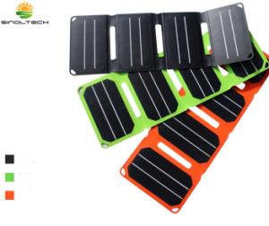 3 pliegues de laminado de ETFE Sunpower 6.4W celular cargador solar al aire libre para el iPhone (FSS-6.4F3).
