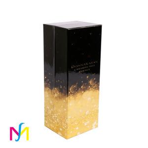 Пользовательский цвет печати Food Grade складных прогулочных судов косметический духов подарочная упаковка бумаги, упаковка дисплея к прикуривателю бутылку вина упаковки для хранения