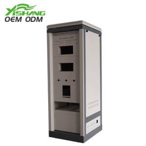 OEM Kabinet van de Server van het Kabinet van het Netwerk van de Bijlage van het Metaal van het Staal van de Laser van de Precisie van de Douane het Scherpe