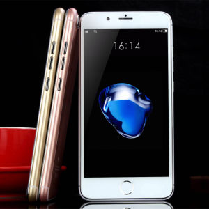 Telefoon 7 van de Prijs van de fabriek Goedkope plus Twee SIM Kaart Mobiele Smartphone
