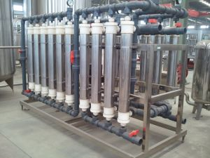 60t/H 자동적인 순화된 물 처리 가득 차있는 생산 라인