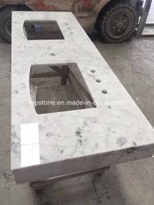 Bianco Carrara Meuble Lavabo En Marbre Blanc En Haut Pour La Salle