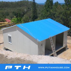 Estructura de acero de la luz de prefabricados Proyecto de construcción de la casa