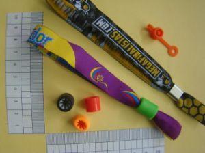 Ordinateur sangles tissées/Cassette/cou Lanyard/corde pour bande de poignet avec du polyester