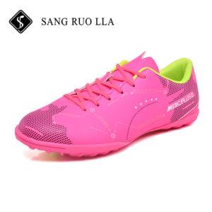 Nuevo diseño profesional Popular Mens Rosa todos los zapatos de fútbol en venta