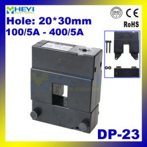 Alta precisión de transformador de corriente de núcleo dividido 20*30mm TP-23 CP-23 DP-23 para 100/5A - 400/5A LA CLASE 0.5 Tipo de Herida de cuadros de control CTS