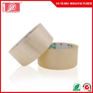 120 yardas de adhesivo acrílico a base de agua clara BOPP cintas de embalaje 120 rollos en una caja de cartón