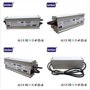 Lumlux controlador LED IP67 Fuente de alimentación 150W con 0--10V y atenuación de PWM. Certificado CE y UL, utilizando la luz de la calle y la luz pública