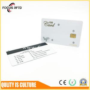 Vierge Fréquence double carte à puce RFID avec HF/UHF/ em4100