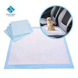 60*60cm使い捨て可能なペットベッドの子犬のトレーニングのパッドシートのマット