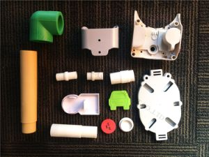 Plastic Ronde die Schijf met Hoge Precisie wordt aangepast